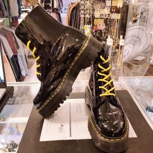 Dr.  Martens Molly Women's Leather Platform Boots